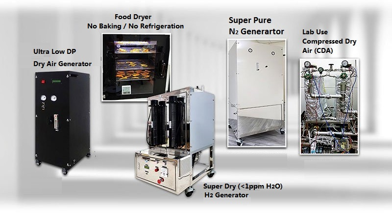 自動化氣體吸附/分離/純化/回收設備及系統工程